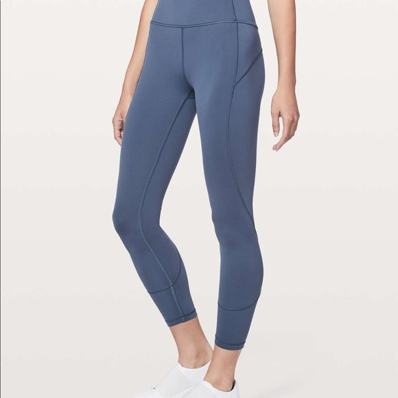 """In Movement Pants 25"""" (7/8) Thunder Blue"""